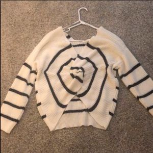 Sweaters - Knotted back sweater
